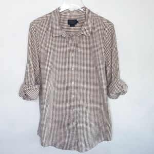 Pendleton gingham button down shirt, Size XL f110